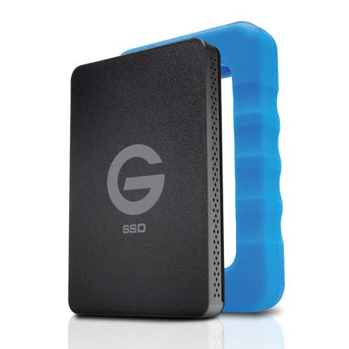 G-Technology 1 TB 0G04759 G-Drive with Rizer Portable Hard Drive Protective Case