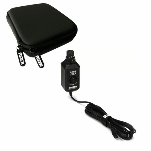 Rode i-XLR Digital XLR Interface for iOS Devices with Rizer Portable Hard Drive Protective Case
