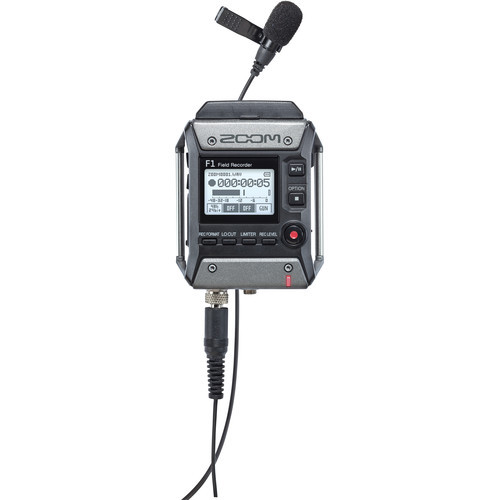 Zoom Field Recorder Lavalier Package
