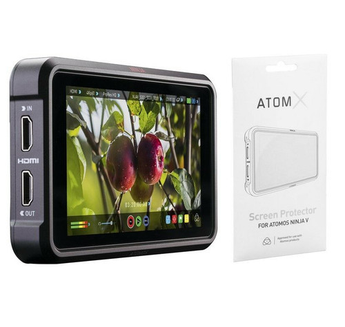 "Atomos Ninja V 5"" 4K HDMI Recording Monitor with Atomos Screen Protector for Ninja V"