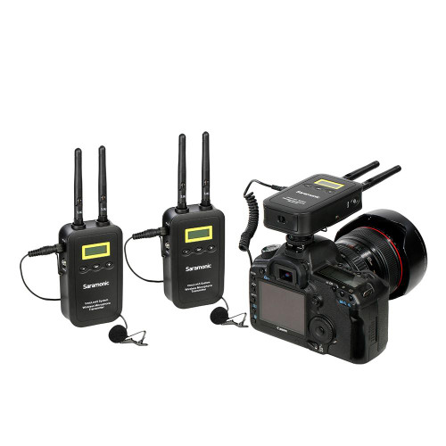 Saramonic Two-Channel 5.8GHz Wireless Lavalier System