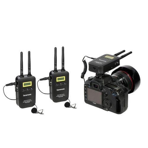 Saramonic Two-Channel 5.8GHz Wireless Lavalier System