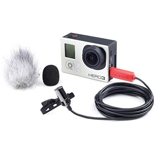 Saramonic SR-GMX1 GoPro Lavalier Microphone