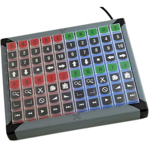 X-keys 8 Dedicated Keys for Controlling KVM