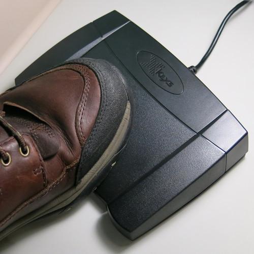 X-keys USB Mouse Click Foot Pedal