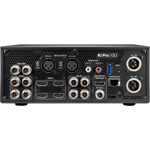 AJA Ki Pro GO Portable Multichannel USB Recorder/Player