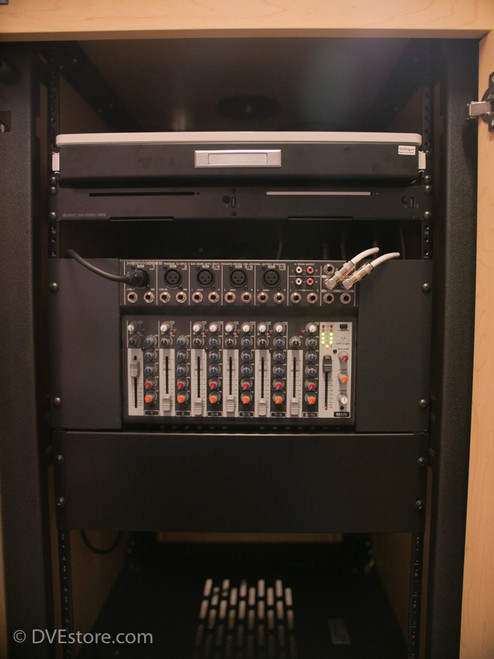 Front of rack
