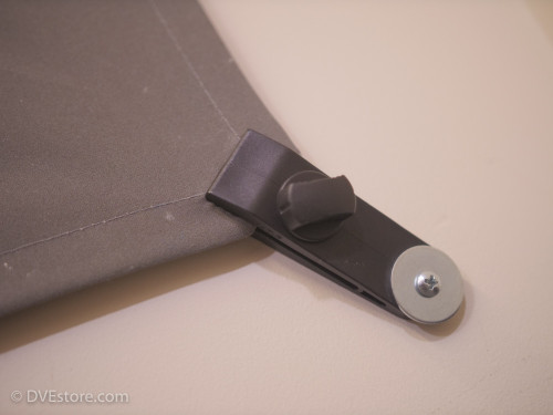 Chromatte drape wall mount clip
