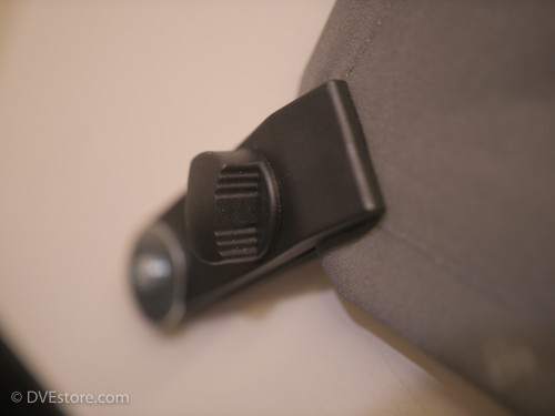 Clip for wall mounting the Chromatte drape