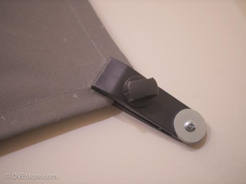 Chromatte drape wall mount clip