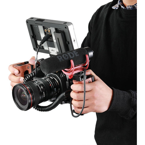 Smallrig Nato Handle for BMPCC 4K and Samsung T5 SSD