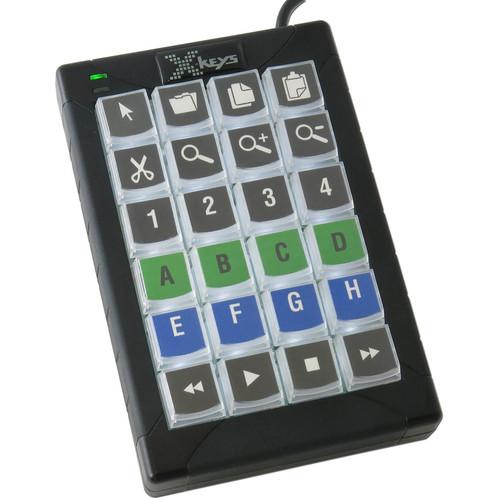 X-keys 24 Dedicated Keys Keypad