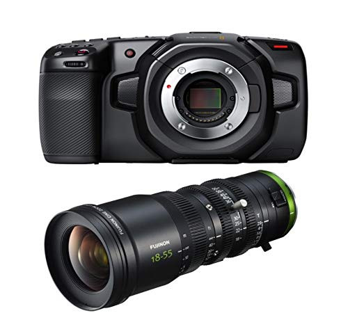 BMD Pocket Cinema Camera 4K and Fujinon 18-55mm MFT Lens