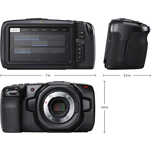 BMD Pocket Cinema Camera 4K and Fujinon 18-55mm MFT Lens