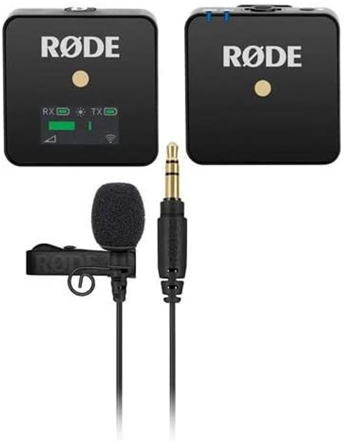 Rode Wireless GO with Rode Lavalier GO Microphone