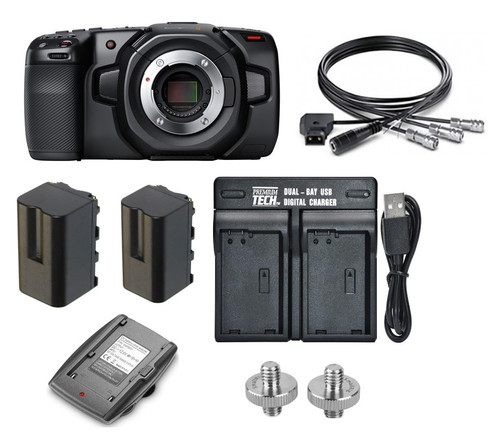 BMD Pocket Cinema Camera 4K with Battery Kit and Charger