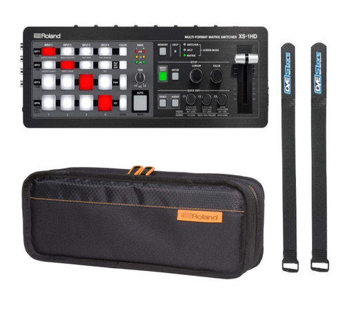 Roland XS-1HD Switcher with Roland Carry Bag