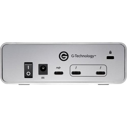 G-Technology G-DRIVE Thunderbolt 3 USB-C Hard Drive