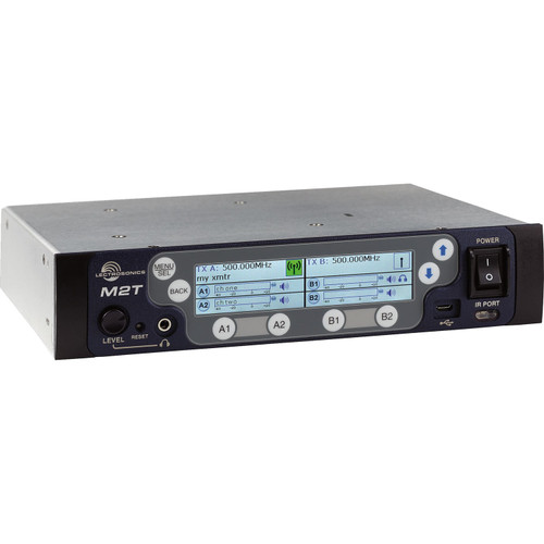 Lectrosonics M2T IEM Digital Half-Rack Transmitter