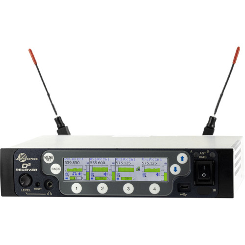 Lectrosonics DSQD 4-Channel Digital Wireless Receiver