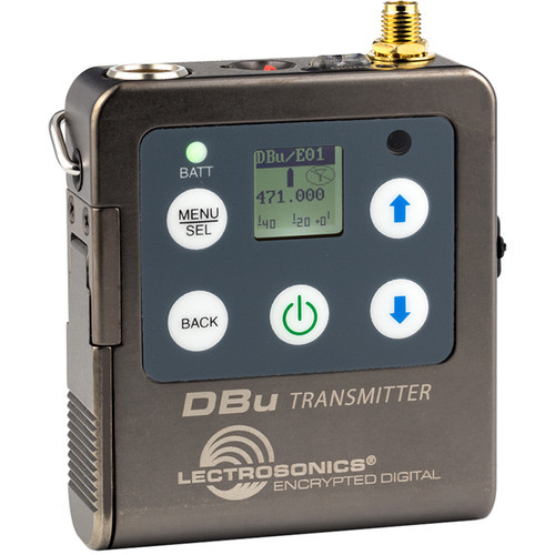 Lectrosonics DBu Digital Bodypack Wireless Transmitter