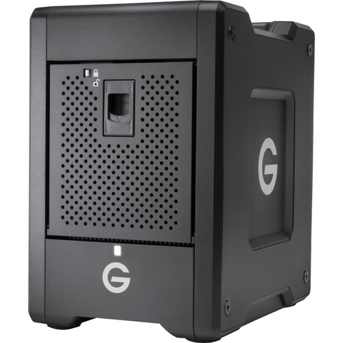 G-Technology G-SPEED Shuttle 4-Bay Thunderbolt 3 RAID Array with Two ev Bay Adapters