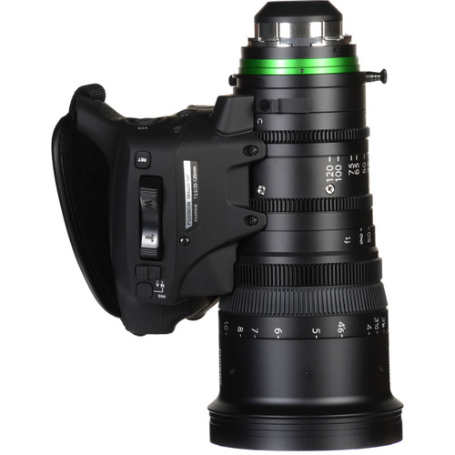 Fujinon XK20-120mm T3.5 Cabrio Premier Lens with Servo Motor (PL Mount)