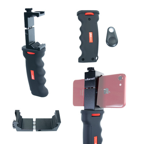 Pistol Grip with Smartphone Mount and Shutter Remote