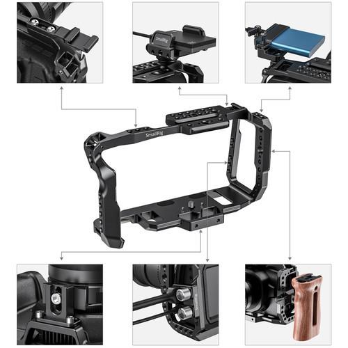 Blackmagic Design Pocket 6K with SmallRig 2203B Full Cage