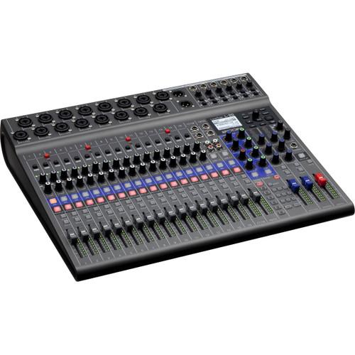 Zoom LiveTrak L-20 Digital Mixer/Multitrack Recorder