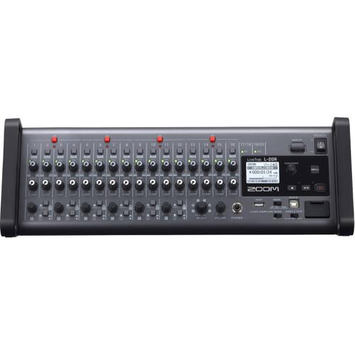 Zoom LiveTrak L-20R 20-Channel Digital Mixer-Recorder