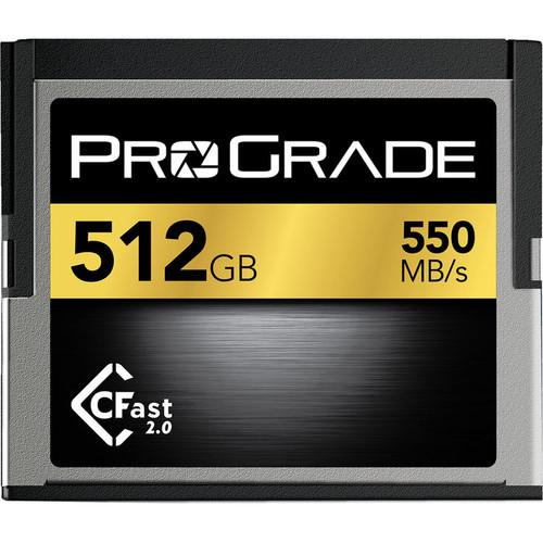 Prograde 512GB CFast 2.0 Memory Card