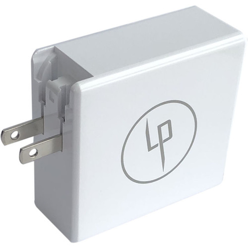 Lifepowr LPD65 65W USB-C PD EU + US plug included
