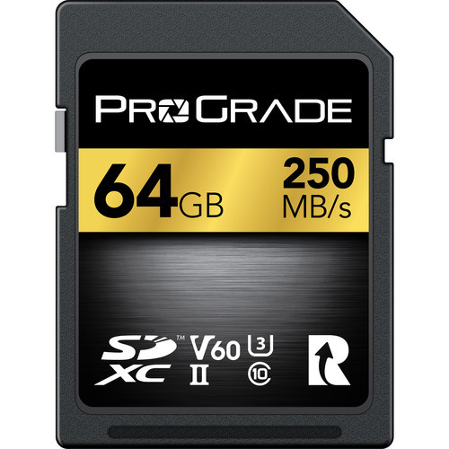 Prograde 64GB SDXC UHS-II Memory Card - 60