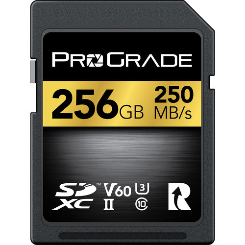 Prograde 256GB SDXC UHS-II Memory Card - 60