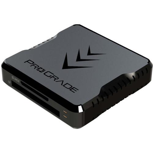Prograde CF SDXC UHS-II USB 3.1 Gen 2 Dual-slot Card Reader