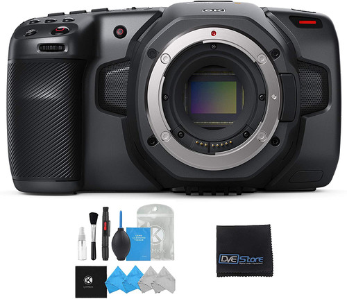 Blackmagic Camera 6K with Camera Cleaning Kit and Lens Cloth