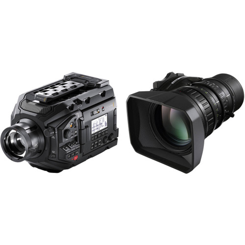 "Blackmagic Design URSA Broadcast Camera Kit with Fujinon 2/3"" Mount LA16x8BRM-XB1A Lens"