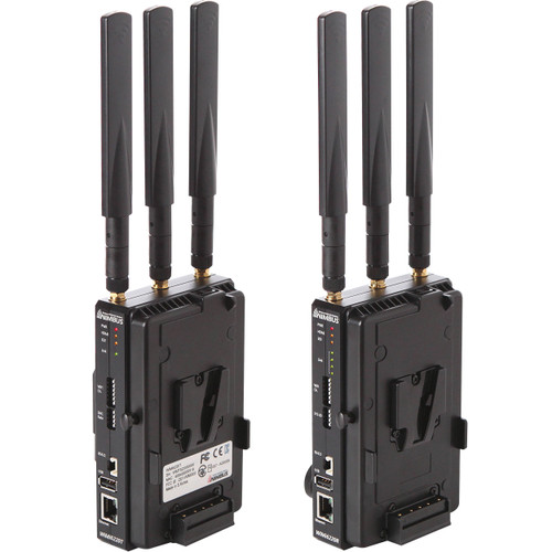 Nimbus WiMi6220 Wireless 3G-SDI & HDMI H.264 Encoder/Decoder Set