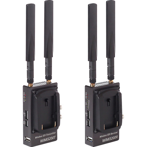 Nimbus WiMi5200A Wireless 3G-SDI H.264 Encoder/Decoder Set