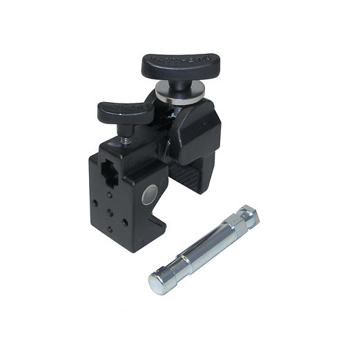 "Matthews Super Mafer Clamp with 5/8"" Pin - Black"