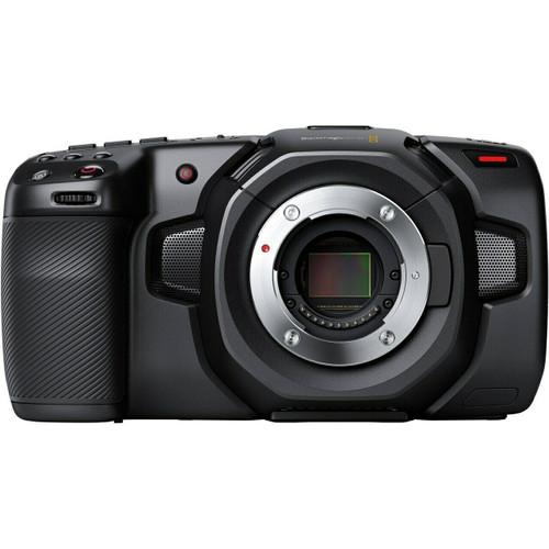 BMD Pocket Cinema Camera 4K, Half Cage, Handle & SSD Mount