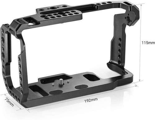 BMD Pocket Cinema Camera 4K with Full Cage, Handle, SSD Mount