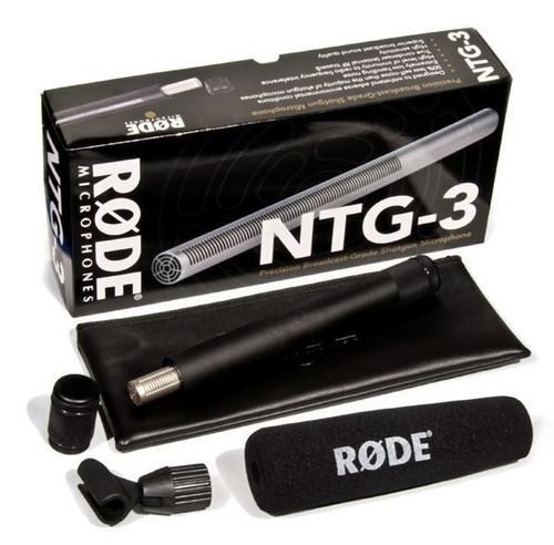 RODE NTG-3 Shotgun Microphone with Blimp