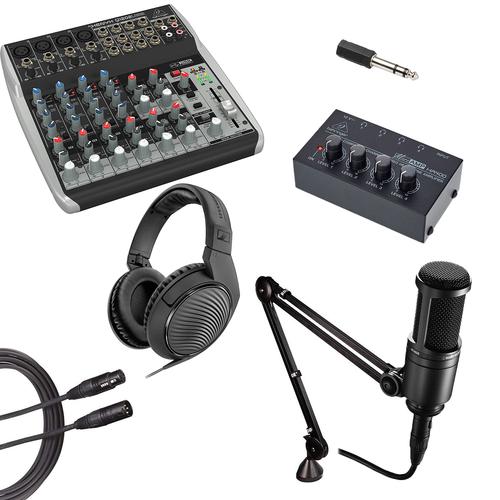 "Podcast Starter Equipment Kits 1,2,3,4 hosts - ""Underground"""