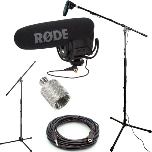 RODE VideoMic Pro R Studio Boom Kit - USED