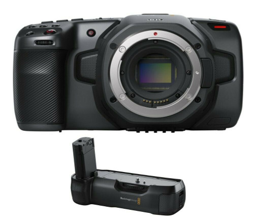 Blackmagic Design Pocket Cinema Camera 6K with Battery Grip