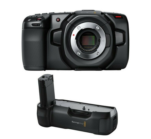 Blackmagic Design Pocket Cinema Camera 4K with Battery Grip