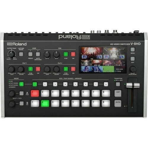 Roland V-8HD 8 Channel HD Video Switcher