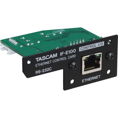 Tascam IF-E100 Ethernet Control Card For Cd-400U
